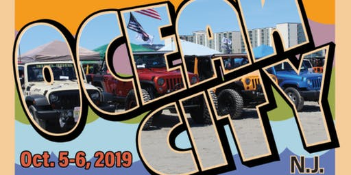 2019 Fall NJ Jeep Invasion - Ocean City, NJ