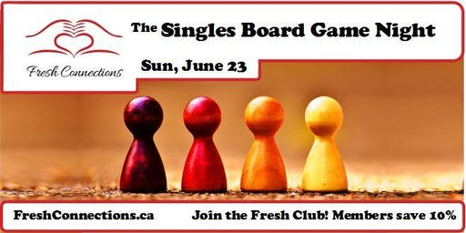 The Singles Board Game Night