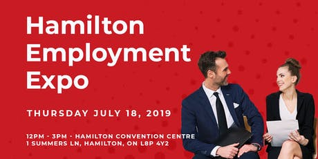 Job Fair | Hamilton Employment Expo tickets