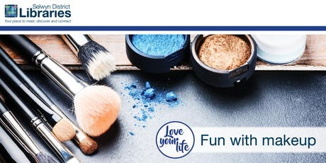 Love your Life - Fun with Makeup @ Rolleston Library tickets