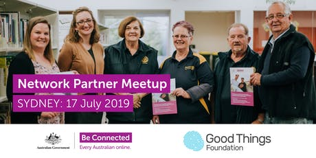 Be Connected Network Partner Meetup - Sydney tickets