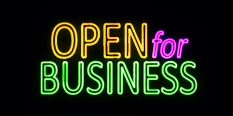 Ever Wanted to Start Your Business? Found out how. FREE advice, mentoring, support. tickets