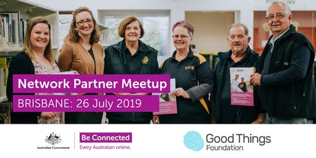 Be Connected Network Partner Meetup - Brisbane tickets