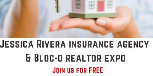 Jessica Rivera Insurance Agency & BLOC-O Realtor Event