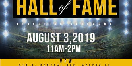 Apopka Sports Hall of Fame 2019 Ceremonial Luncheon tickets
