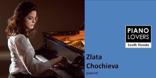BACH, CHOPIN, SCRIABIN, LISZT & RACHMANINOFF featuring pianist Zlata Chochieva