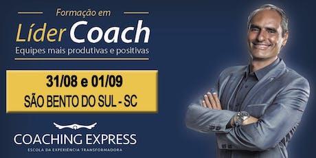 LÍDER COACH - São Bento do Sul - SC (CECB) AGOSTO 2019 ingressos
