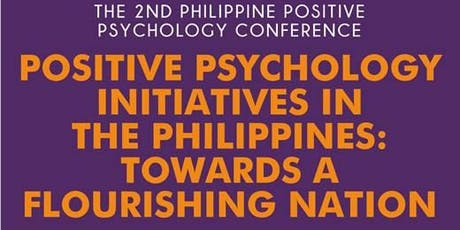 2nd Philippine Positive Psychology Conference tickets