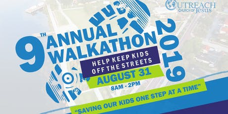 9th Annual HELP KEEP KIDS OFF THE STREETS! Walkathon tickets