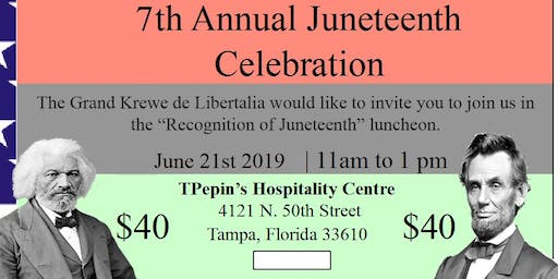 The 7th Annual Juneteenth Awards Luncheon