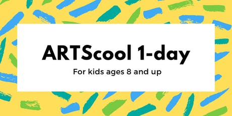 ARTScool 1-day: Summer Sun (age 8+) tickets