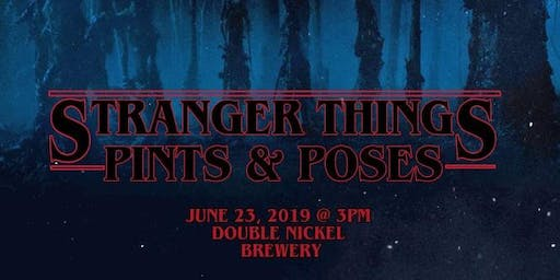Stranger Things Pints & Poses