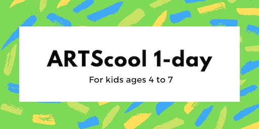 ARTScool 1-day: Dot (age 4-7)
