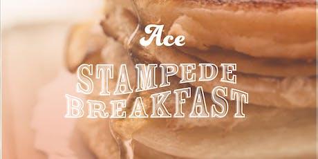 ACE Stampede Breakfast tickets