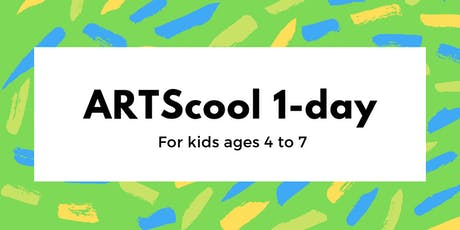 ARTScool 1-day: Mix it Up (age 4-7) tickets