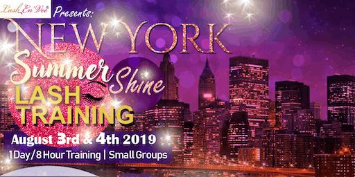New York Summer Shine Lash Training Tour
