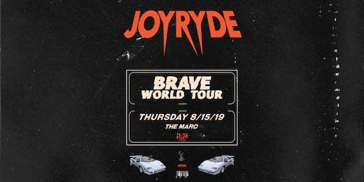 8.15 | JOYRYDE | THE MARC | SAN MARCOS TX