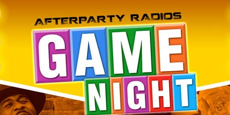 Afterparty Game Night  tickets
