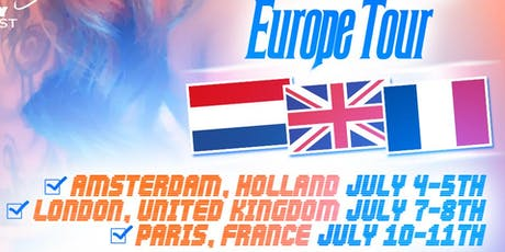 The Candy Colour Masters Class Europe Tour billets