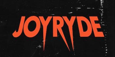 """JOYRYDE """"Brave World"""" Tour at 1015 FOLSOM"""