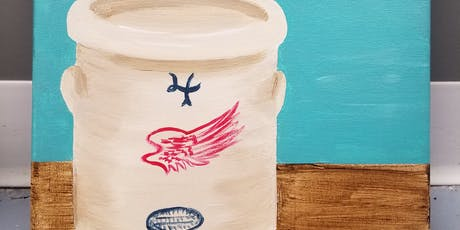 Canvas and Cookies - Red Wing Pottery tickets