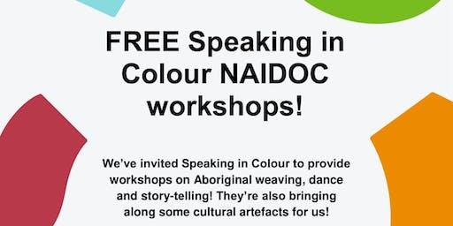 NAIDOC Week: Speaking in Colour