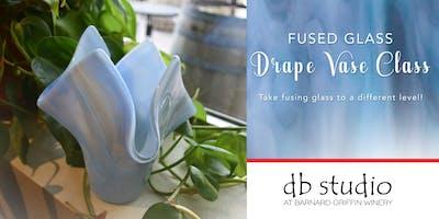 Drape Vase Class   Fusing Glass at db Studio