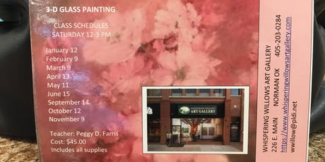 3D Glass Painting Workshop tickets