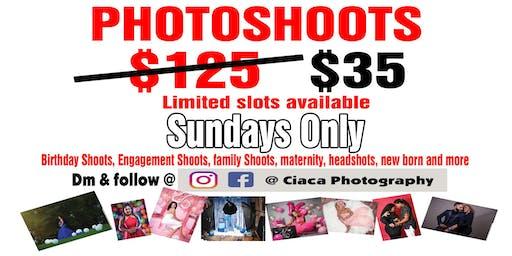 Photo Shoot Sundays
