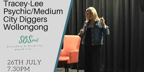 Tracey-lee Psychic/Medium Returns to Wollongong  tickets