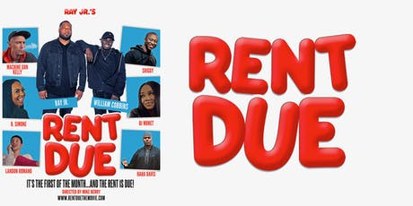 "Exclusive PREMIER for Ray Jr's movie  ""Rent Due"" tickets"