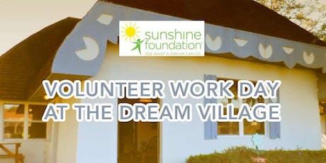 Sunshine Foundation Dream Village Work Day - September 2019 tickets