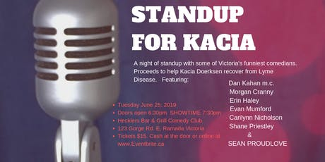 Standup For Kacia tickets