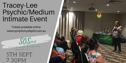 Tracey-lee Psychic/Medium Intimate Event at Campbelltown 30 Guest ONLY