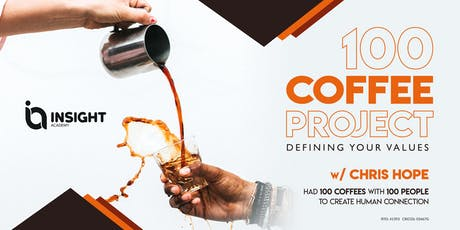 100 COFFEE PROJECT: Defining Your Values tickets