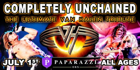 COMPLETELY UNCHAINED: The Ultimate Van Halen Tribute LIVE at Paparazzi OBX! tickets
