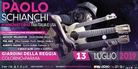 PAOLO SCHIANCHI e l'INNOVATORIO DI MUSICA - Tra Italia e Stati Uniti biglietti