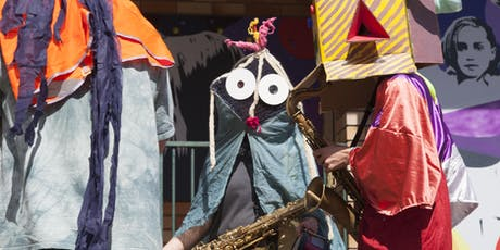 Prophets! Music, Instrument Building and Mask Making Workshop (5 - 12 years) tickets