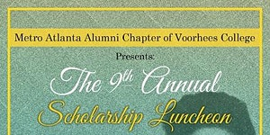 9th Annual Scholarship Luncheon Voorhees College Metro...