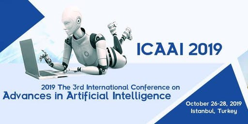 The 3rd International Conference on Advances in Artificial Intelligence (ICAAI 2019)