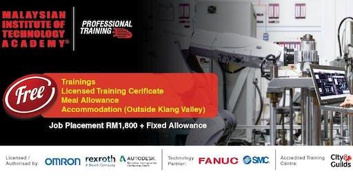 Latihan Percuma & Penempatan Kerja Dengan Gaji Permulaan RM1,800