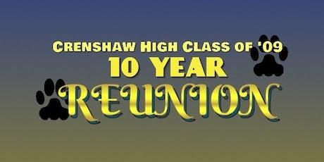 Crenshaw High School Class of 2009 presents A Mid-Summer Night's Dream tickets