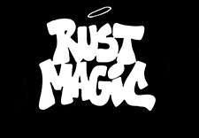RUST MAGIC INTERNATIONAL logo