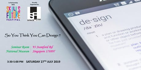 The ID Industry: So You Think You Can Design? tickets