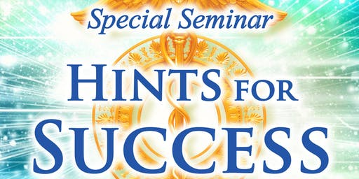 "Business Meditation Seminar ""Hints for Success"""