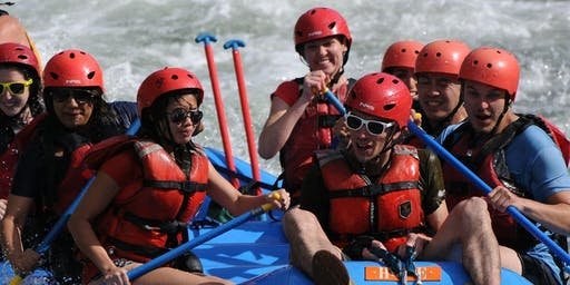 Whitewater Rafting Adventuer on the American River