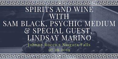 Spirits and Wine with Sam Black & Lindsay Marino