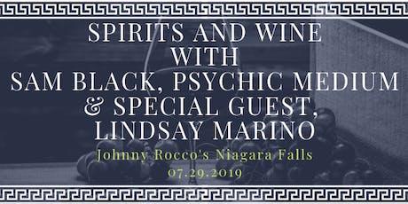 Spirits and Wine with Sam Black & Lindsay Marino tickets