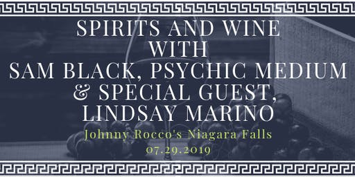 Spirits and Wine with Sam Black & Lindsay Marino
