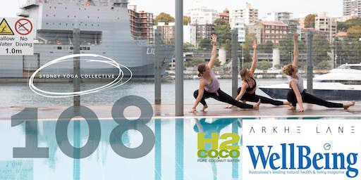 108 Winter Solstice YOGA with H2Coco and Arkhe Lane